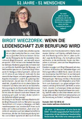 Birgit Wieczorek: Wenn die Leidenschaft zur Berufung wird