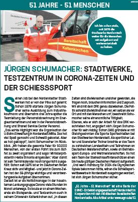 Jürgen Schumacher: Stadtwerke, Testzentrum in Corona-Zeiten und der Schießsport