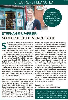 Stephanie Suhrbier: Norderstedt ist mein Zuhause