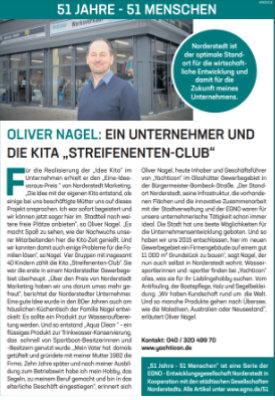 """Oliver Nagel: Ein Unternehmer und die Kita """"Streifenenten-Club"""""""