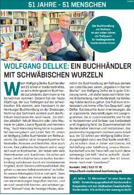 Wolfgang Dellke: Ein Buchhändler mit schwäbischen Wurzeln.