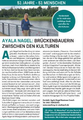 Ayala Nagel: Brückenbauerin zwischen den Kulturen